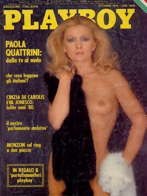 Playboy Italy - October 1976