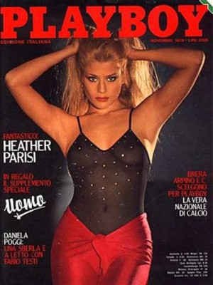 Playboy Italy - November 1979