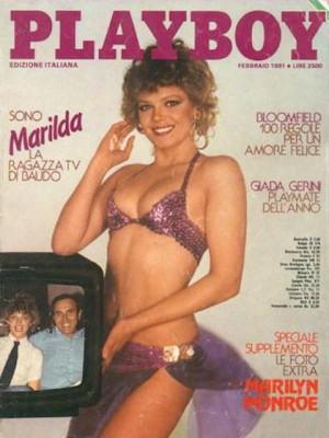 Playboy Italy - February 1981