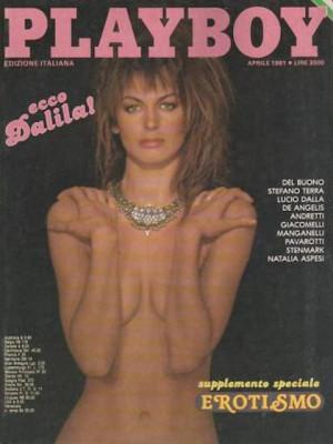 Playboy Italy - April 1981