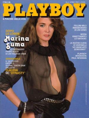 Playboy Italy - April 1983