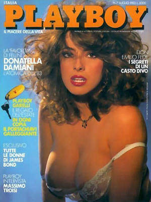 Playboy Italy - July 1983