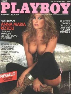 Playboy Italy - September 1983