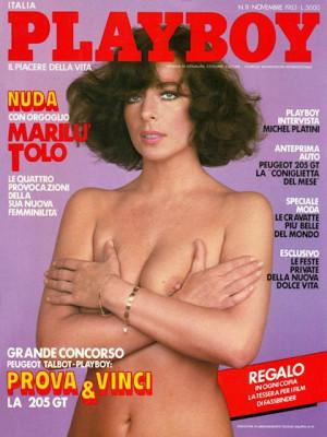 Playboy Italy - November 1983