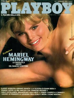 Playboy Italy - January 1984