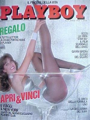 Playboy Italy - April 1984