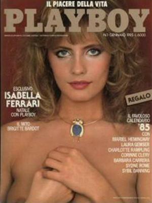 Playboy Italy - January 1985