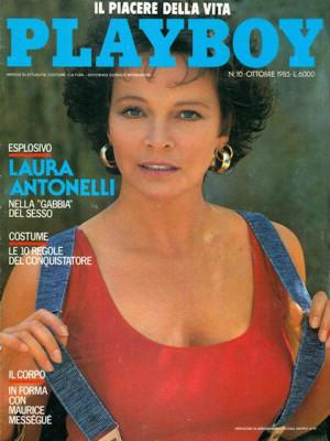 Playboy Italy - October 1985
