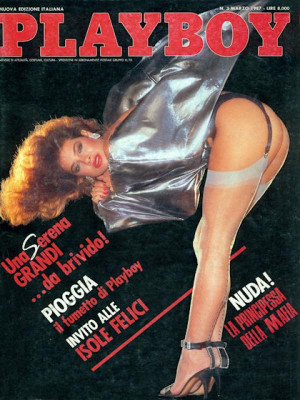 Playboy Italy - March 1987