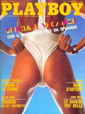 Playboy Italy - August 1987
