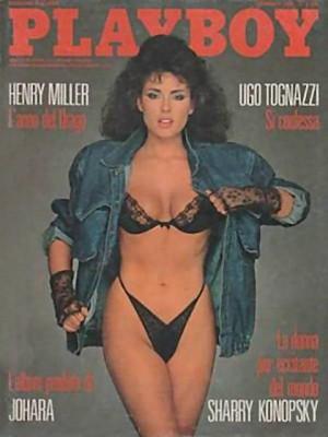 Playboy Italy - January 1988