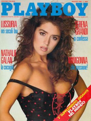 Playboy Italy - May 1988