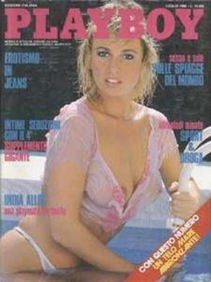 Playboy Italy - July 1988