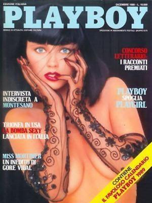 Playboy Italy - December 1988