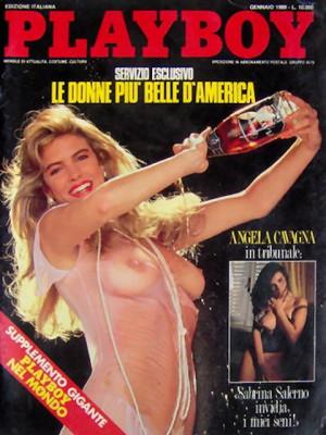 Playboy Italy - January 1989