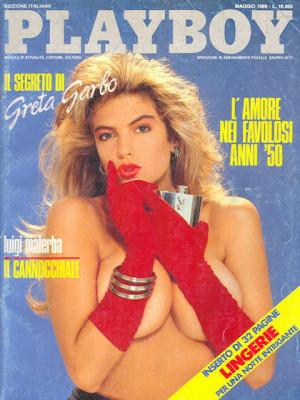 Playboy Italy - May 1989