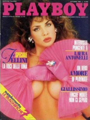 Playboy Italy - October 1989