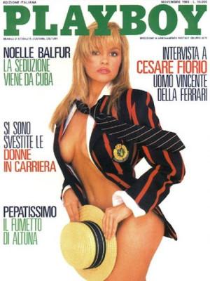 Playboy Italy - November 1989