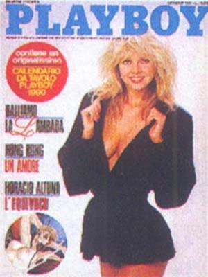 Playboy Italy - January 1990
