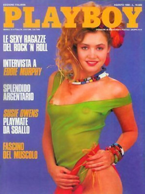 Playboy Italy - August 1990