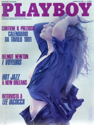 Playboy Italy - January 1991