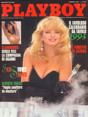 Playboy Italy - January 1993