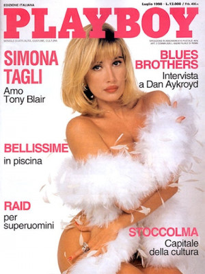Playboy Italy - July 1998