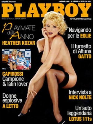 Playboy Italy - July 1999