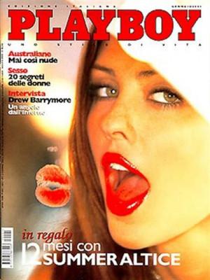 Playboy Italy - January 2001