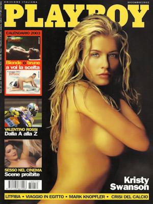 Playboy Italy - December 2002
