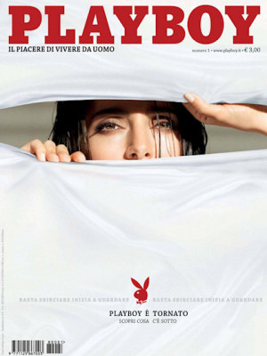 Playboy Italy - January 2009