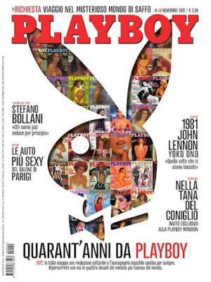 Playboy Italy - November 2012