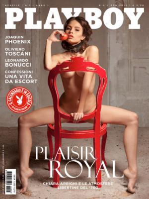 Playboy Italy - Dec 2015