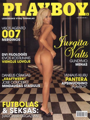 Playboy Lithuania - Dec 2008
