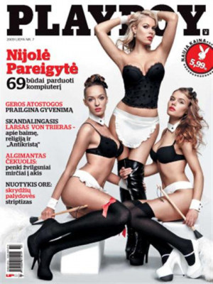 Playboy Lithuania - Jul 2009