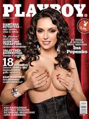 Playboy Lithuania - Sep 2009
