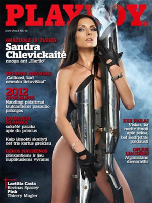 Playboy Lithuania - Oct 2009