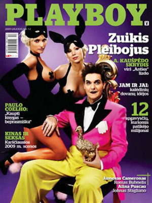 Playboy Lithuania - Dec 2009
