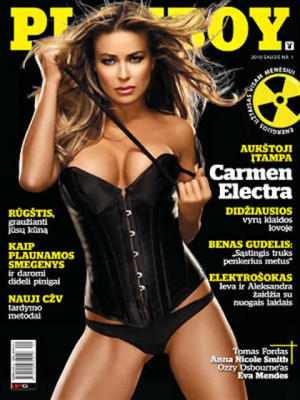 Playboy Lithuania - Jan 2010