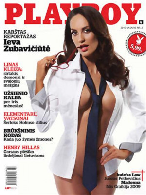 Playboy Lithuania - Feb 2010