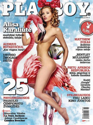 Playboy Lithuania - Jun 2010