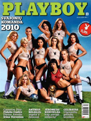 Playboy Lithuania - Jul 2010
