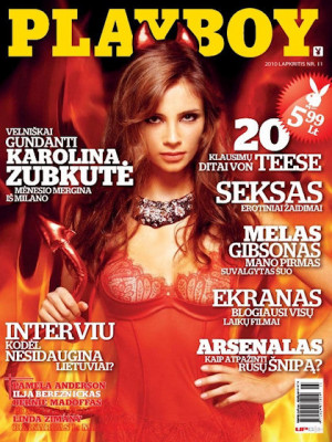 Playboy Lithuania - Nov 2010