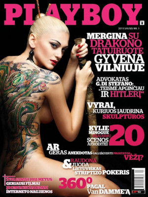 Playboy Lithuania - Jan 2011