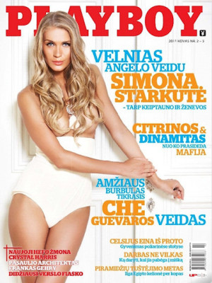 Playboy Lithuania - Feb 2011