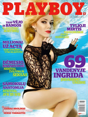 Playboy Lithuania - Jun 2011