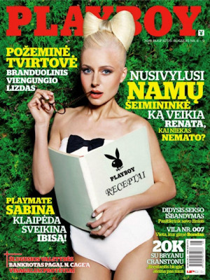 Playboy Lithuania - Aug 2011