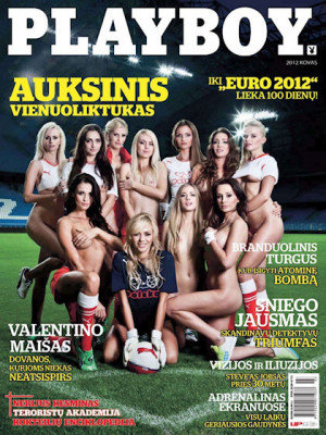 Playboy Lithuania - Mar 2012