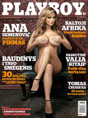 Playboy Lithuania - Jun 2012