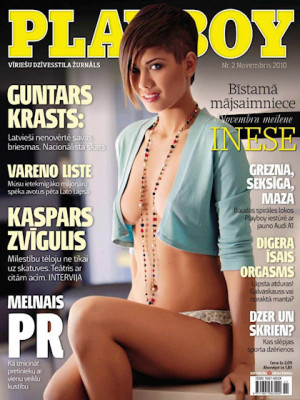Playboy Latvia - Nov 2010